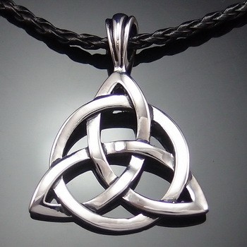Celtic trinity knot necklace c3 casual celtic trinity knot necklace aloadofball Images